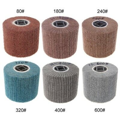 Deburring Abrasive Drawing Round Nylon Brush Polishing Grinding Buffing Wheel