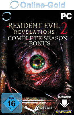 Resident Evil Revelations 2 Complete Season + Bonus Uncut Version STEAM PC [DE]