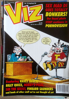 VIZ COMIC    No 79  AUG 96