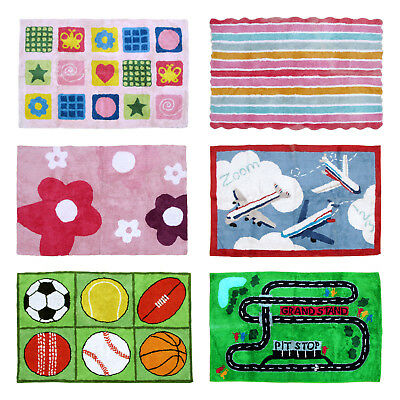 EX- Display / Sample Kids Children Girls Boys 100% Cotton Floor Bedroom Rug Mat
