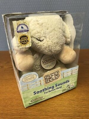 New Cloud B Sleep Sheep Plays Soothing Nature Sounds For Better Sleep Free Ship