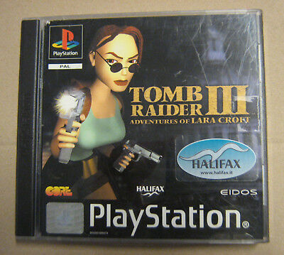 Videogame TOMB RAIDER III 3 Playstation 1 PSX PS1 PSONE NEW NUOVO 1st print