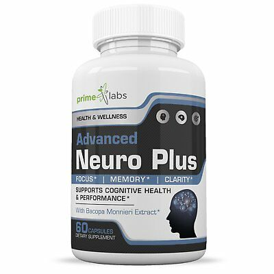 Advanced Brain Supplement Support Booster - Memory Focus and Clarity Formula ...