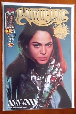 DF COA WITCHBLADE Movie Edition Top Cow Image Comic #1 Dynamic Forces