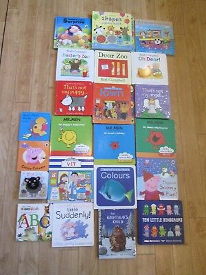 Usborne, Dean, Macmillan, Touchy Feely  Etc X 22 Baby Board Books, Ex Clean Con