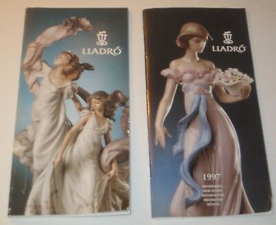1990's LLADRO Collectors BOOKLETS Guides CATALOGUES