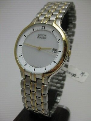 Nos Citizen Eco-Drive Quartz Herrenarmbanduhr Np ,- 79 €