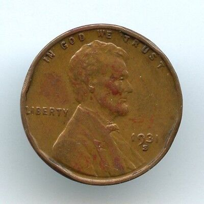 1931-S Lincoln Wheat Cent (AU to UNC details )  VERY KEY DATE!  LOOK AT PHOTOS!