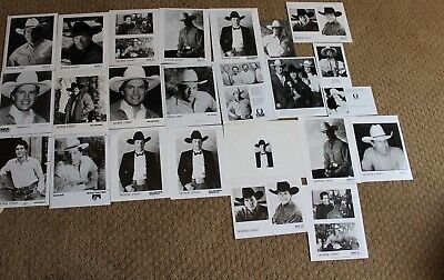 George Straight Music Band Agency Lot Of Candid Press Photo Photograph