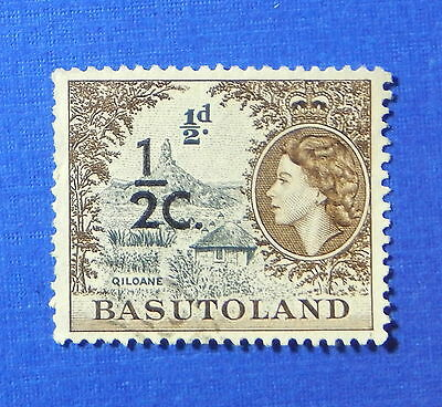 1961 BASUTOLAND 1/2c SCOTT# 61 S.G.# 58 USED                             CS20187