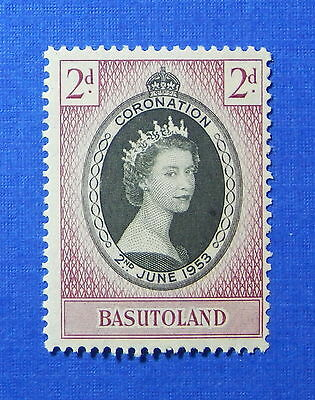 1953 BASUTOLAND 2d SCOTT# 45 S.G.# 42 UNUSED NH                          CS20067