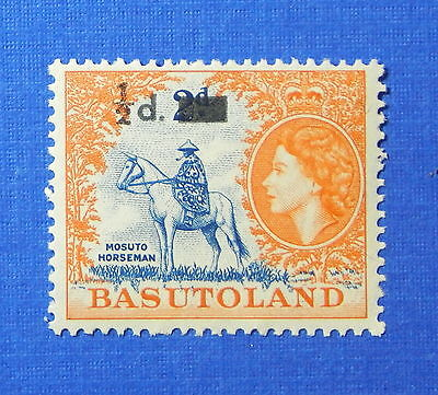 1959 BASUTOLAND 1/2d SCOTT# 57 S.G.# 54 UNUSED NH                        CS20101