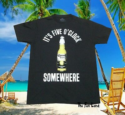 New  Corona Extra Bottle Palm Beach Icons Beer Mens Classic Vintage T-Shirt