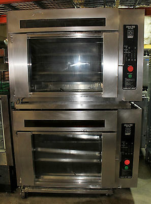 2007 Hardt Inferno 3000 Gas Rotisserie Oven double stack