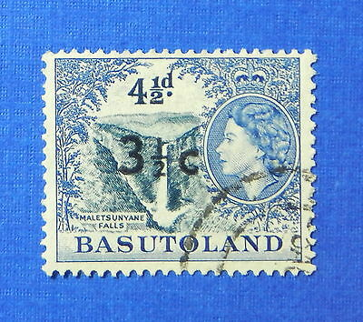 1961 BASUTOLAND 3 1/2c SCOTT# 65 S.G.# 62 USED                           CS20198