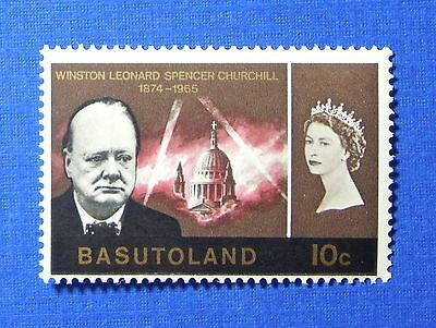 1966 BASUTOLAND 10c SCOTT# 107 S.G.# 104 UNUSED NH                       CS20134