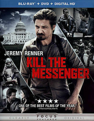 Kill The Messenger Blu-Ray 1-Disc Only Never Viewed No Case No Art Ships Fast