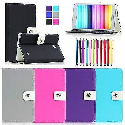 Folio Case Cover for Samsung Galaxy Tab 4 8.0 Tab 8 Case SM- T330 with Stand C2