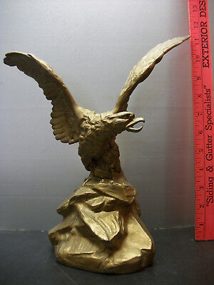 Antique Slush Cast American Bald Eagle Statue / Lamp Base?