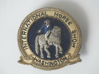 Vintage Washington International Horse Show Patch