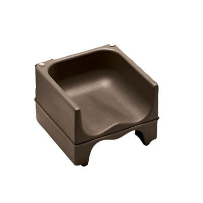 Cambro 200BC131 Dark Brown Dual Seat Booster Seat without Strap