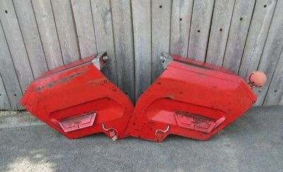 Massey Ferguson 135 Original Fenders Wings With Butler Lights