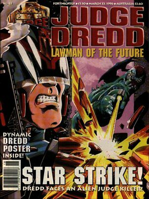 JUDGE DREDD - LAWMAN of the FUTURE - Issue 18 (2000AD) - EXCELLENT CONDITION