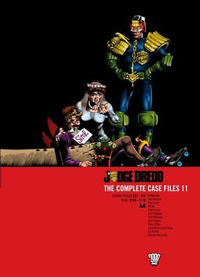 2000AD ft JUDGE DREDD: THE COMPLETE CASE FILES 11 - GRAPHIC NOVEL - VGC