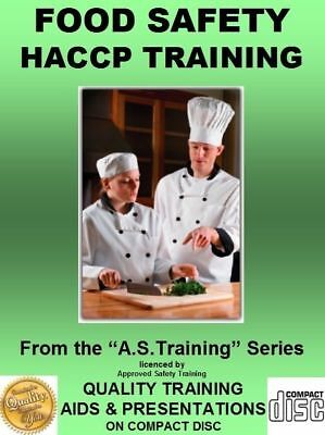 HACCP FOOD SAFETY and SFBB Health & Safety Training PPT on CD 2018