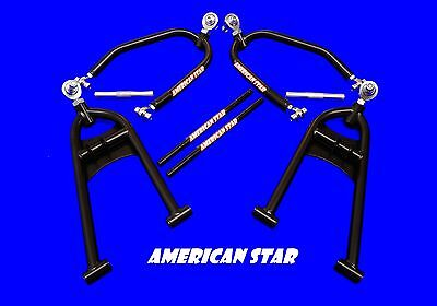 Yamaha Raptor 660 +3 up 1 PRO X RACING A-ARMS BLACK By American Star