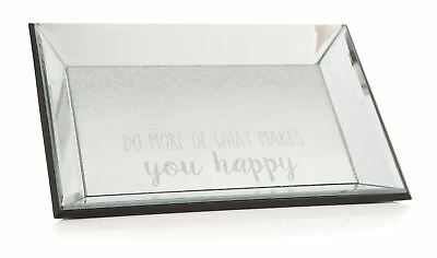 'Do More Of What Makes You Happy' Trinket Tray Small Blemish