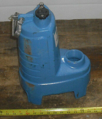 Goulds Submersible Sewage Pump PS51 ***Parts or repair only***