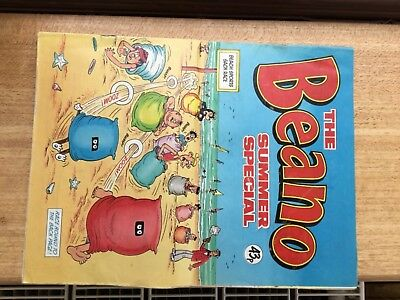 1984 The Beano Summer Special Comic