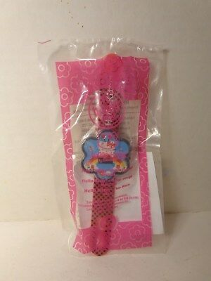 McDonalds Happy Meal Hello Kitty Watch Red Flower Sealed In Package 2008
