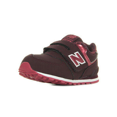 new balance toddler 574 u chaussures à bride bleu blanc