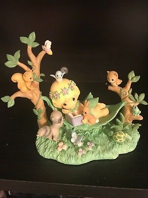 Precious Moments Fairy Tales Are Meant To Be Shared Figurine*