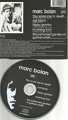 T. Rex MARC BOLAN You Scare me to Death 5UNRELEASE UK CD Single SEALED USA Seler