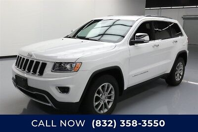 Jeep Grand Cherokee Limited Texas Direct Auto 2015 Limited Used 3.6L V6 24V Automatic RWD SUV Premium