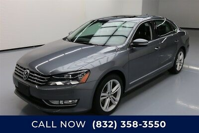 Volkswagen Passat TDI SE w/Sunroof & Nav Texas Direct Auto 2014 TDI SE w/Sunroof & Nav Used Turbo 2L I4 16V Automatic FWD
