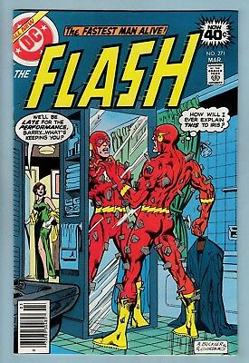 The Flash # 271 Vfnm (9.0)  Bright & Glossy High Grade Unstamped Us Cents Copy
