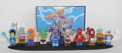 Diorama He-Man - Masters of the Universe mit 10 Figuren (unbespielt)