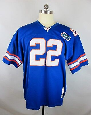Gridiron Greats Florida Gators VTG Mens Blue Emmitt Smith #22 NFL Jersey SZ 4XL