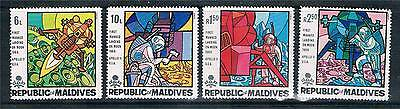Maldive Is 1969 First Man on the Moon SG 305/8 MNH
