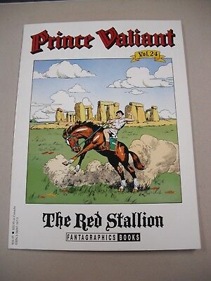 """prince Valiant"" Sunday Strips Vol 24 `the Red Stallion` By Harold Foster!"