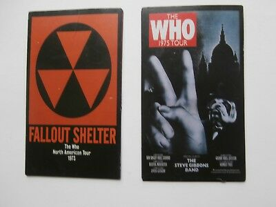 The Who - The Who On Tour Fridge Magnets