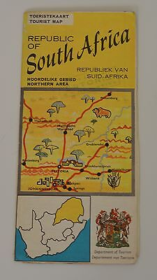 ☆ South Africa ☆ Northern Area ☆Very Nice Old Map