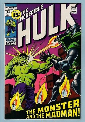 Incredible Hulk # 144 Vfn+ (8.5)  Doctor Doom - Lovely High Grade - Cents - 1971