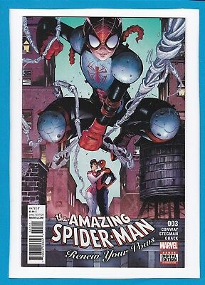 Amazing Spider-Man:renew Your Vows #3_Mar 2017_Near Mint_Mole Man_Gerry Conway!