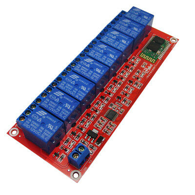 8 Channel 12V Relay Board Module Bluetooth Phone Remote Control for Arduino