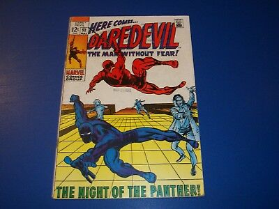 Daredevil #52 Silver Age Black Panther Wow